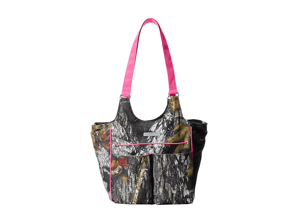 Ariat - Mini Carry All (Mossy Oak/Pink) Shoulder Handbags