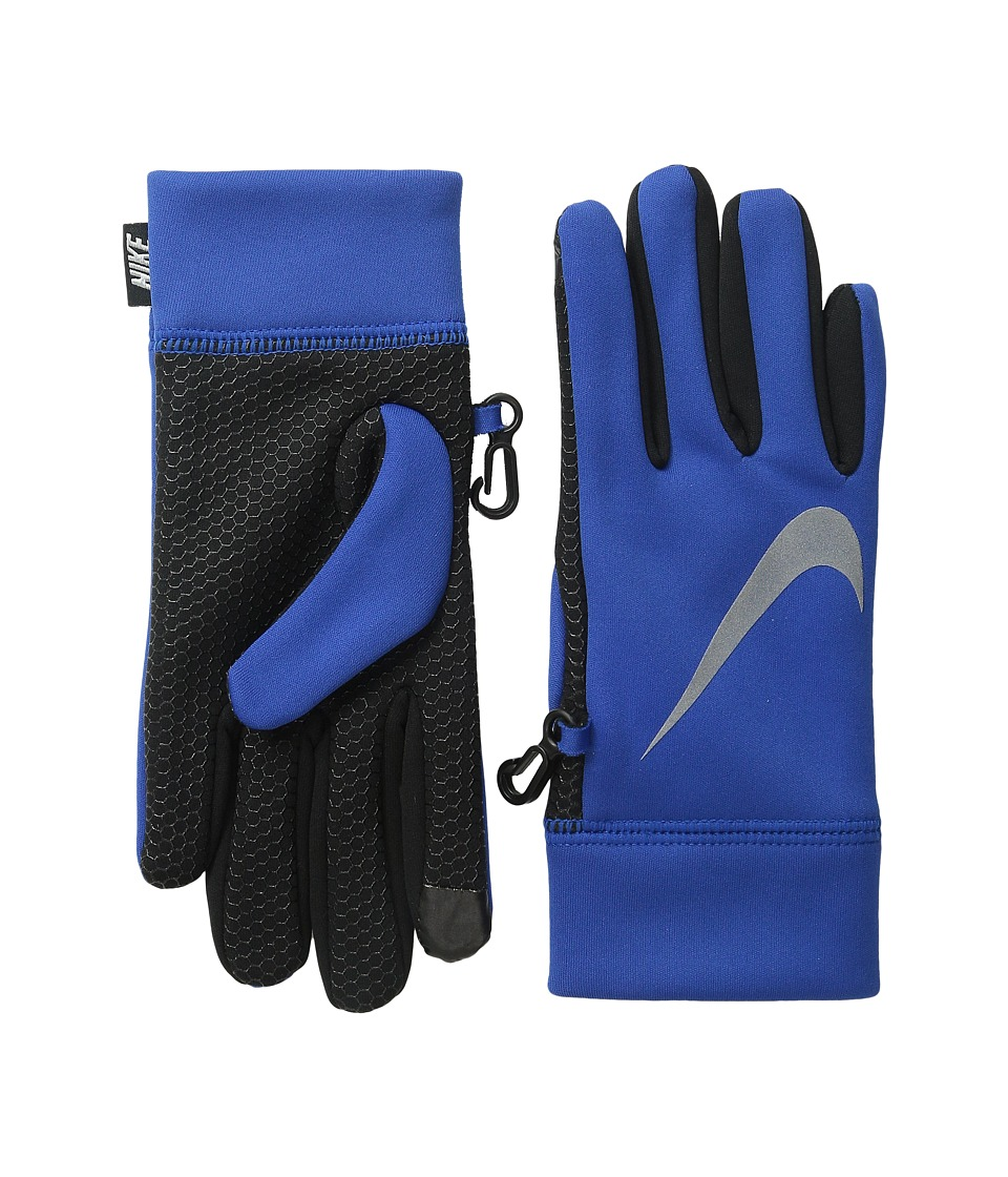 Nike Kids Therma Reflect Glove (Big Kids) (Game Royal) Extreme Cold Weather Gloves