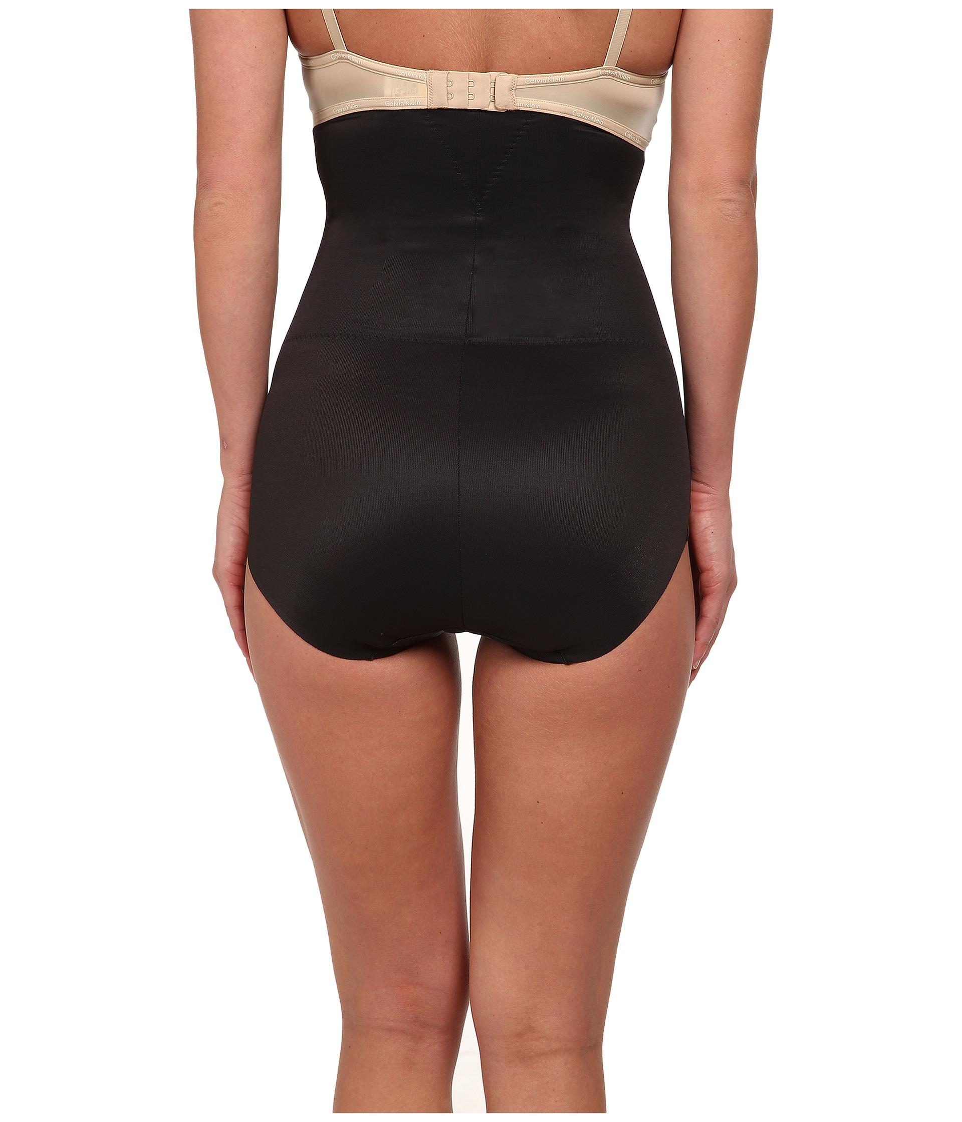 Miraclesuit Shapewear Long Torso High Waist Brief Black ...