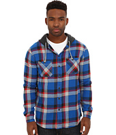 UNIONBAY - Vincent Hooded Flannel Button Up