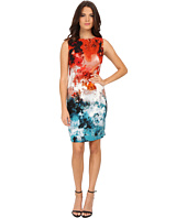 Adrianna Papell - Printed Drapey Sheath
