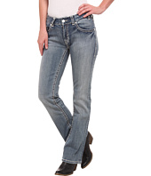 Rock and Roll Cowgirl - Mid Rise Bootcut in Light Vintage W1-4503