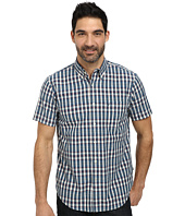 Nautica - Short Sleeve Poplin Medium Plaid