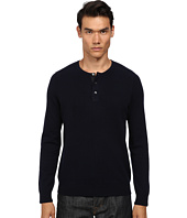 Vince - Wool Cashmere Stitch Mix Henley