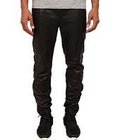 Vince - Leather Moto Jogger