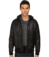 Vince - Hooded Shearling Jacket