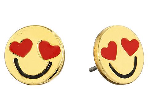 Kate Spade New York Tell All Smitten Emoji Studs Earrings