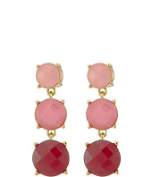 Kate Spade New York - Smell The Roses Linear Earrings