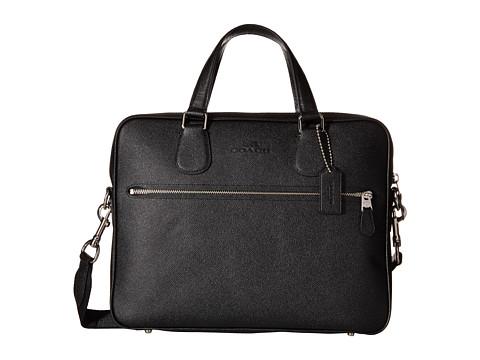 COACH Crossgrain Coach Hudson 5 Bag - SV/Black