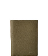 COACH - Refined Pebbled Passport Case