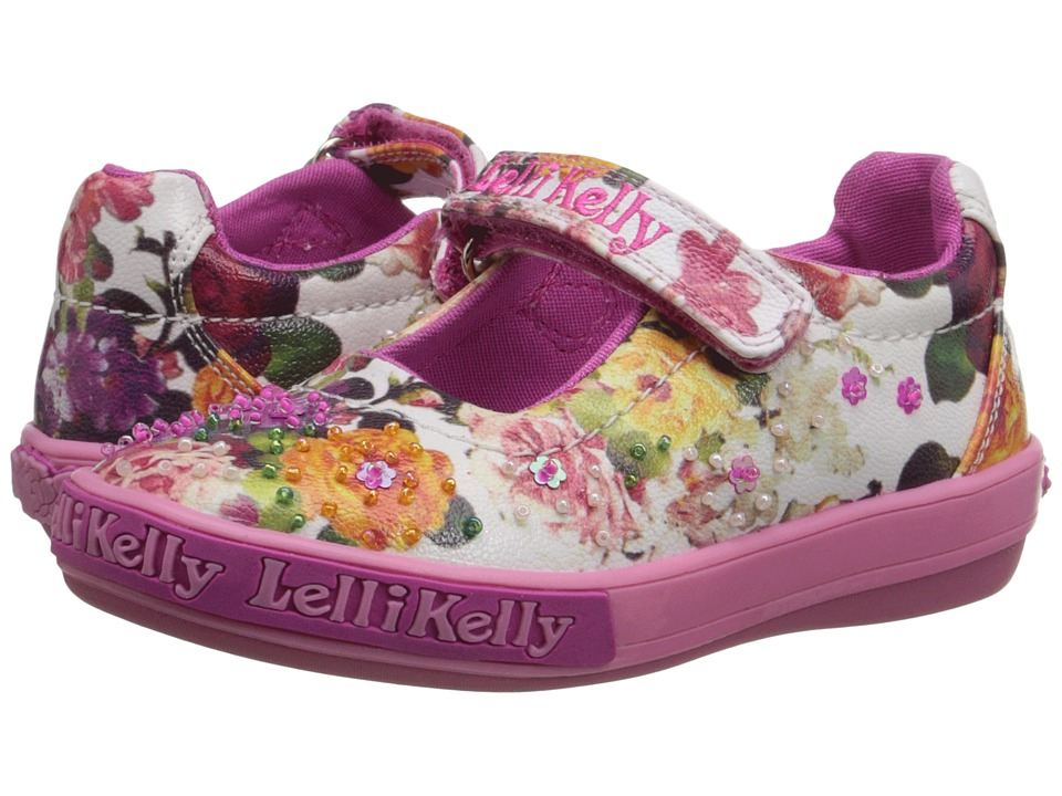 Lelli Kelly Kids Bella Dolly Toddler/Little Kid White Fantasy Girls Shoes