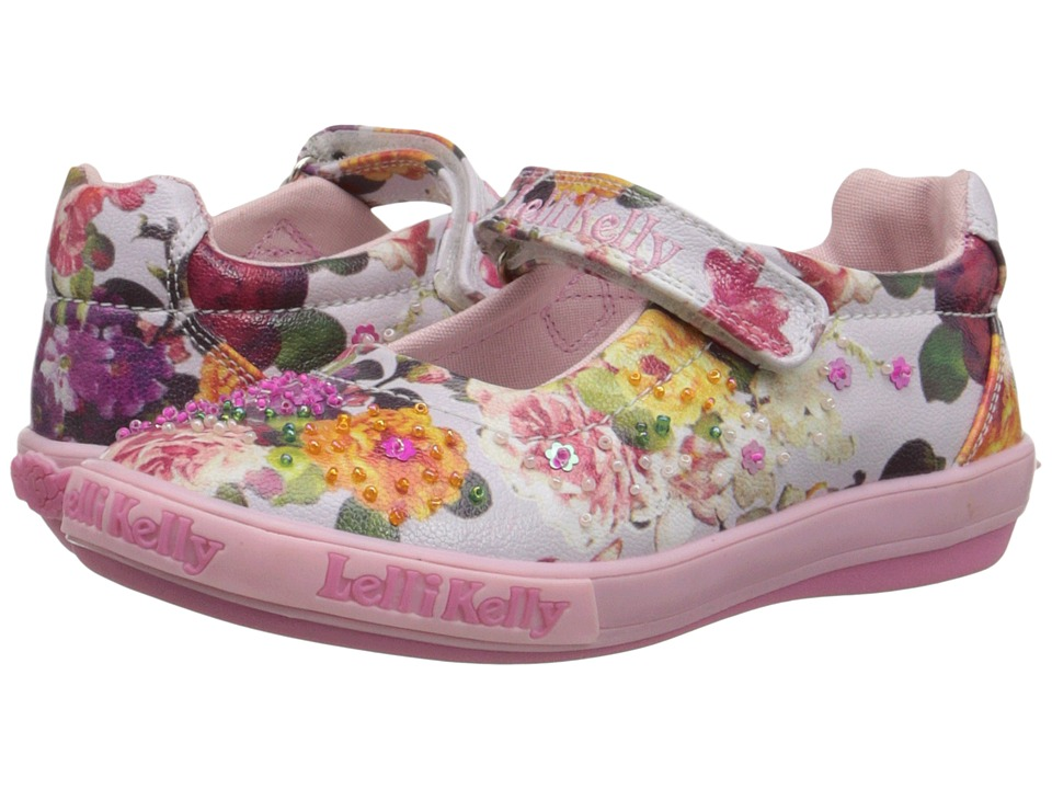 Lelli Kelly Kids Bella Dolly Toddler/Little Kid Fuchsia Fantasy Girls Shoes