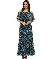 Donna Morgan - Off-Shoulder Chiffon Maxi Dress