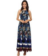 Donna Morgan - Halter Chiffon Maxi Dress