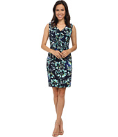 Donna Morgan - Twist Front Sleeveless Jersey Sheath Dress
