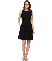 Donna Morgan - Sleeveless Embroidered Organza Fit and Flare Dress