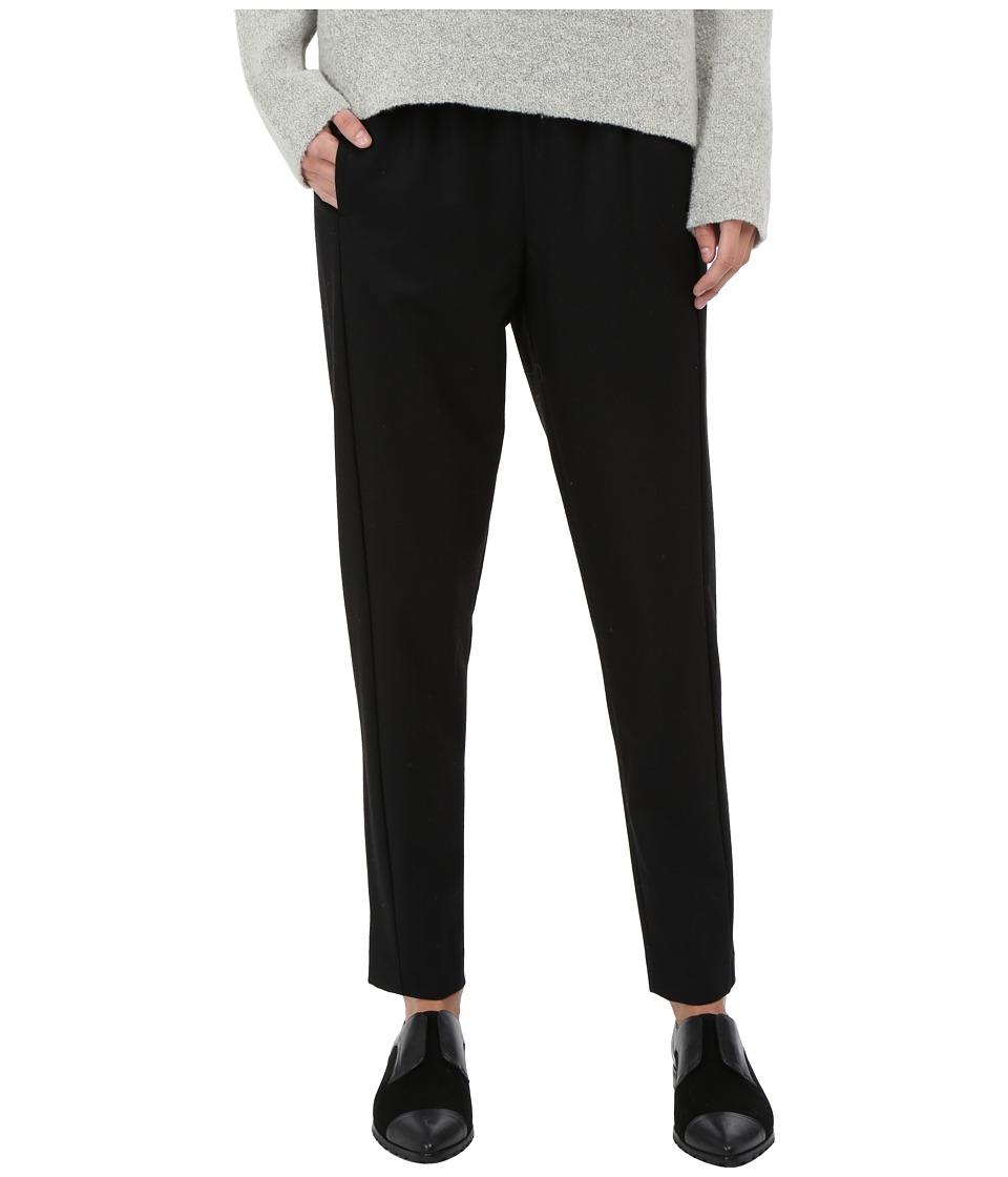 Theory Thorene Pants Black Womens Casual Pants