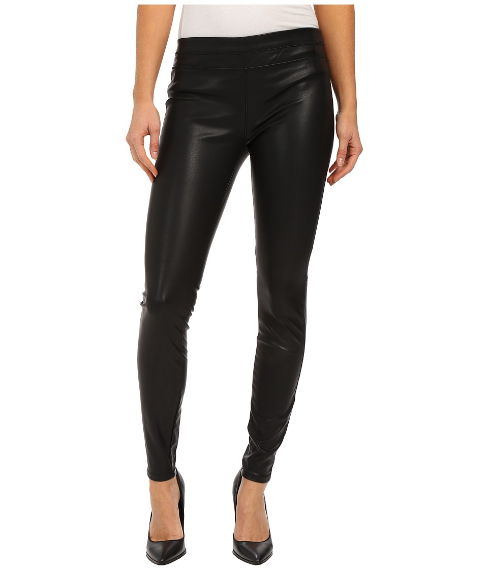 Blank NYC - Vegan Leather Pull On Skinny (Black) Womens Casual Pants