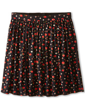 Dolce & Gabbana - Back to School Floral Print Skirt (Big Kids)