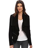 Blank NYC - Suede Drape Jacket