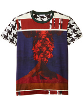 Dolce & Gabbana Kids - Volcano Print Short Sleeve T-Shirt (Big Kids)