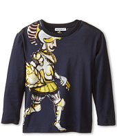 Dolce & Gabbana Kids - King Print Long Sleeve T-Shirt (Toddler/Little Kids)