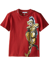 Dolce & Gabbana Kids - King Short Sleeve T-Shirt (Toddler/Little Kids)