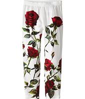Dolce & Gabbana - Ceremony Rose Print Leggings (Toddler/Little Kids)