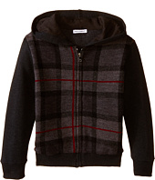 Dolce & Gabbana Kids - Plaid Zip-Up Hoodie (Toddler/Little Kids)