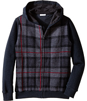 Dolce & Gabbana Kids - Plaid Zip-Up Hoodie (Big Kids)