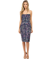 Nicole Miller - Stefania Lace Seamed Strapless Dress