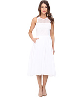 Rebecca Taylor - Sleeveless Maise Eyelet Midi Dress