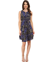 Rebecca Taylor - Sleeveless Flame Print Dress