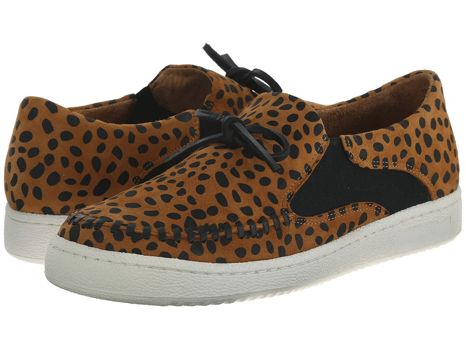 THAKOON ADDITION Warwick 02 Cheetah Suede Womens Slip on Shoes
