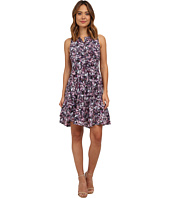 Rebecca Taylor - Sleeveless Floral Matrix Dress