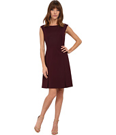 Rebecca Taylor - Sleeveless Ponte Mesh Dress