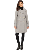 Vince Camuto - Double Breasted Long Military Wool Coat J8201