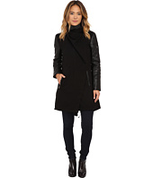 Vince Camuto - Parka with PU Sleeves J8171