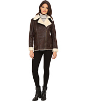 Vince Camuto - Asymmetical Faux Shearling With Sherpa Collar J8491