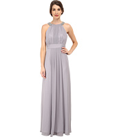 Eliza J - Chiffon Gown with Beaded Neckband