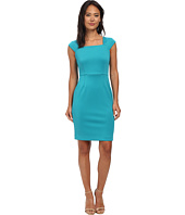Calvin Klein - Square Neck Sheath Dress