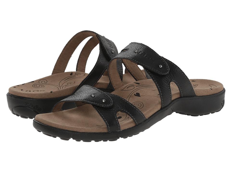 taos Footwear Journey Black Womens Shoes