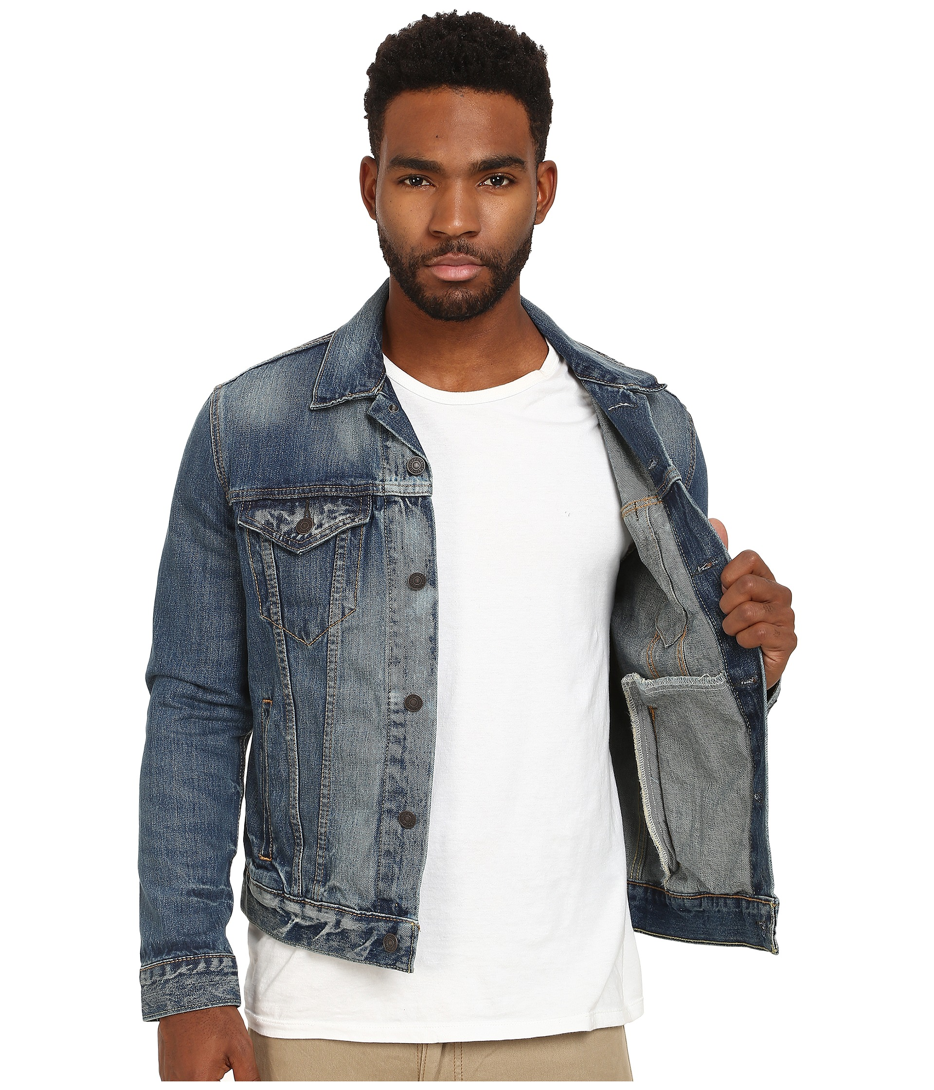 Levi S 174 Mens The Trucker Jacket At Zappos Com