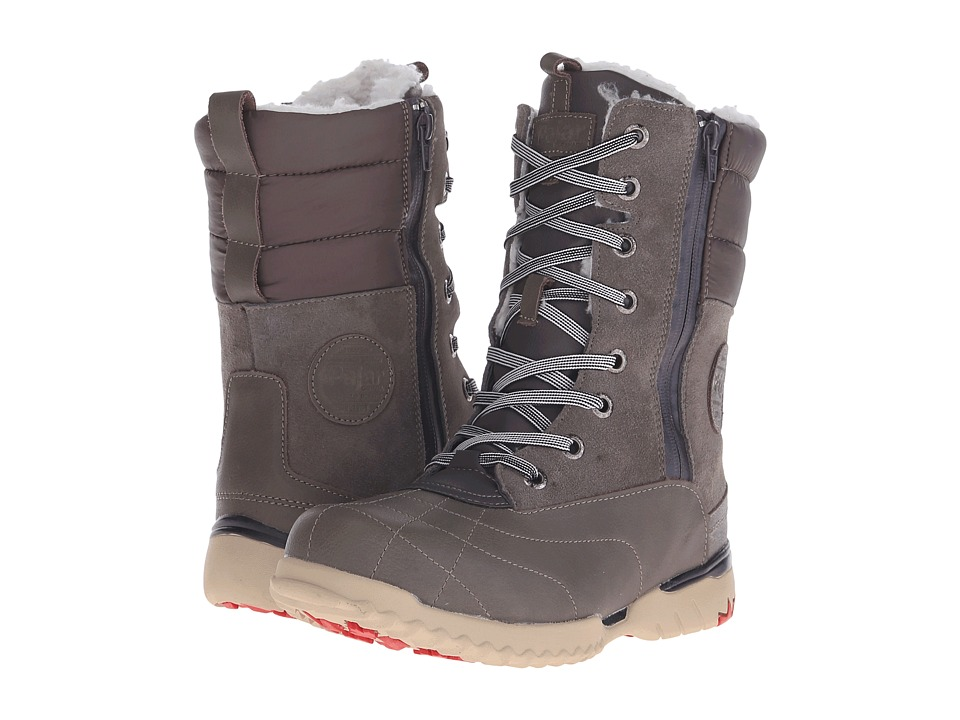 Pajar CANADA Kimberly Dark Grey/Dark Grey/Dark Grey Womens Hiking Boots