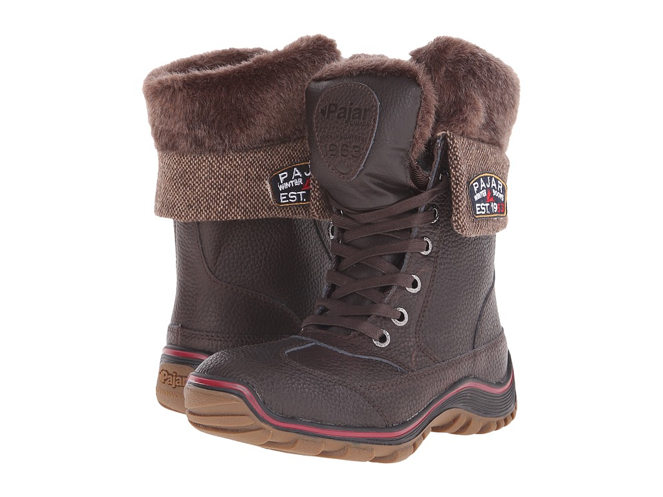 Pajar CANADA Alice Dark Brown Womens Hiking Boots