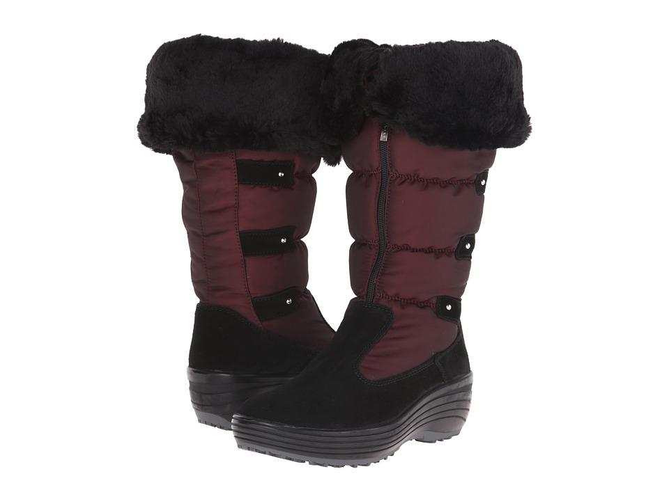 Pajar CANADA Mia Burgundy Womens Boots