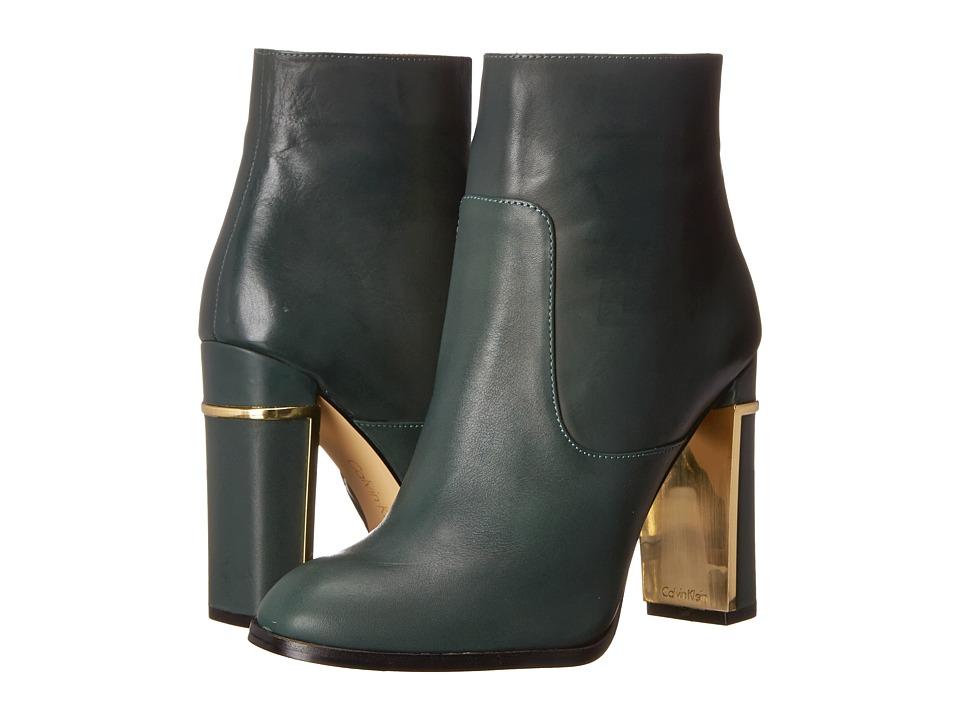 Calvin Klein Karlia (Evergreen Leather) Women