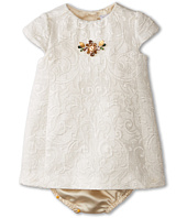 Dolce & Gabbana Kids - Ceremony Embroidered Dress Set (Infant)