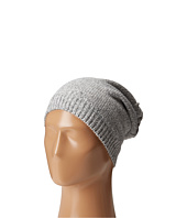 Plush - Fleece - Lined Knit Marled Hat