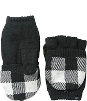 Plush - Fleece - Lined Plaid Texting Mittens